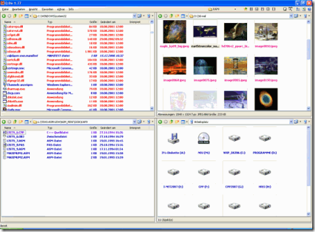 Q-Dir einfach zu bedienende Alternative zum Standard Windows Dateimanager.