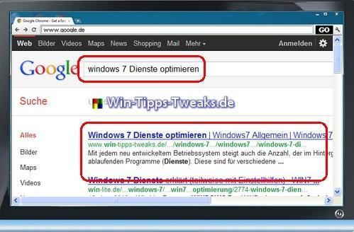 Windows 8 Suche
