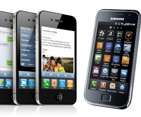iPhone vs. Android-Smartphone