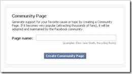 Facebook führt eigene Community-Seiten ein