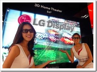 LG 84 Zoll Fernseher