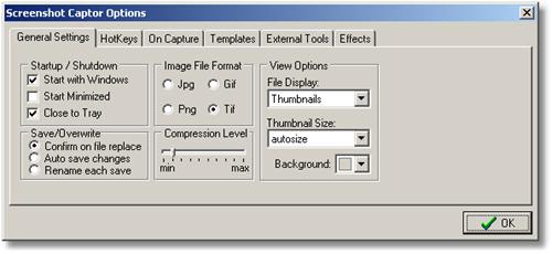 Screenshot Captor Settings1