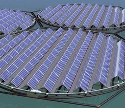 Schwimmende Solarpanele: nutzen Sonnenstrahlung optimal aus (Foto: scintec.it)