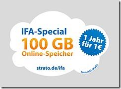 STRATO HiDrive IFA-Angebot