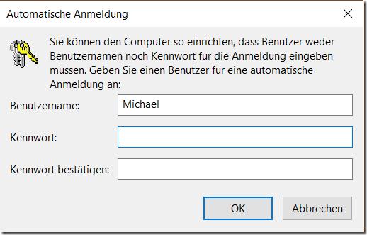 windows 10 ohne anmeldung