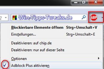 adblock plus chip.de