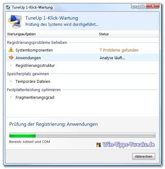 tuneup 1- klick-wartung 2008