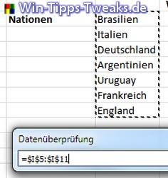 Excel 2010 Dropdown Liste Und Sverweis Erstellen Excel Office Tipps