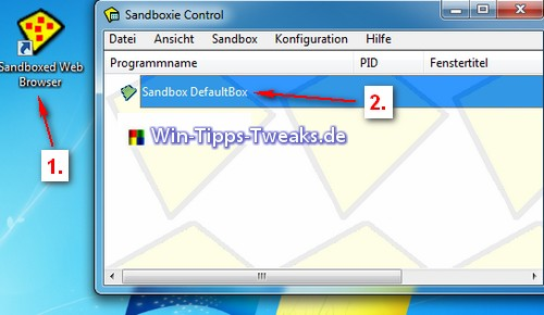 Sandboxed Web Browser
