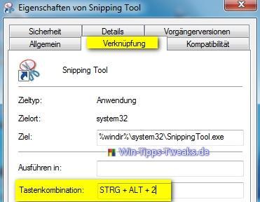 Windows 7 - Screenshots erstellen mit Snipping Tool | Windows7